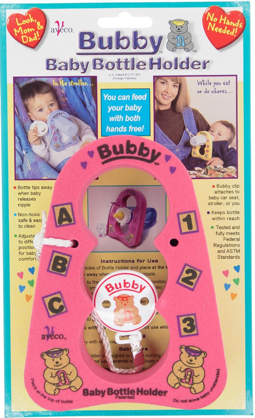 Pink Bubby Bottle Holder