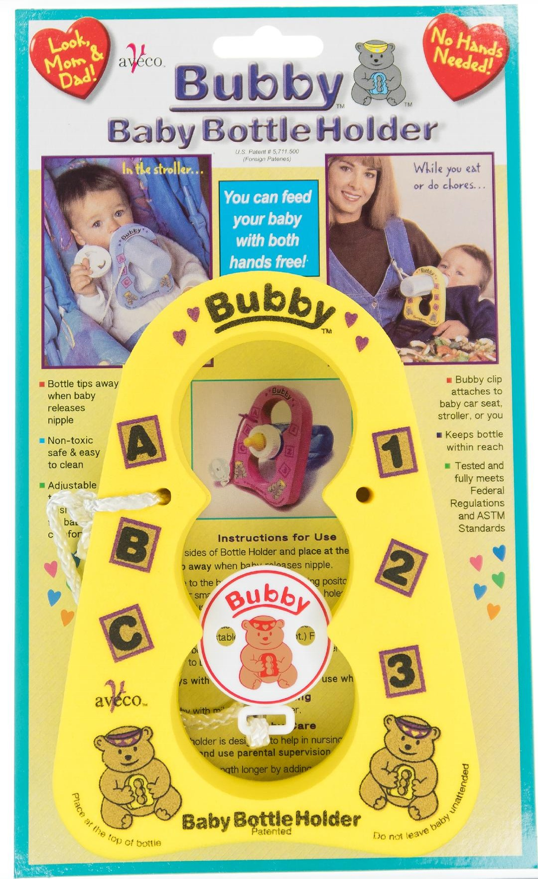 Yellow Bubby Bottle Holder