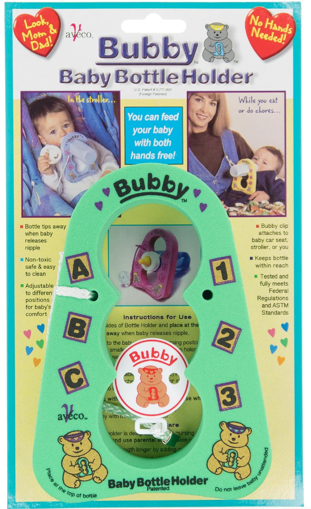 Green Bubby Bottle Holder